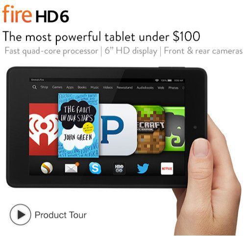 angebot amazon fire hd6 hörbuch