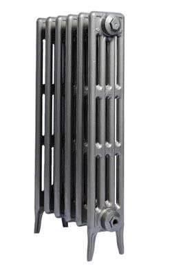 Great in Gun Metal Grey for Art Deco feel A design classic, the Four Column cast iron radiator is a versatile, stylish traditional radiator that compliments any interior. All of our radiators, is modelled directly from an original cast iron radiator. The Four Column cast iron radiator is an affordable classic radiator for those rooms where you need matching radiators in different heights. £72