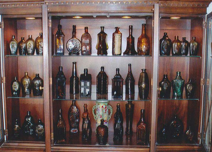 Bills Bitters Cabinet Bitters Bottle Glass Antique