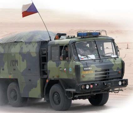 CZE - ACHR-90 / ACHR-90M (dekontaminační vozidlo) : Československo / ČR / SR (CZK/CZE/SVK)