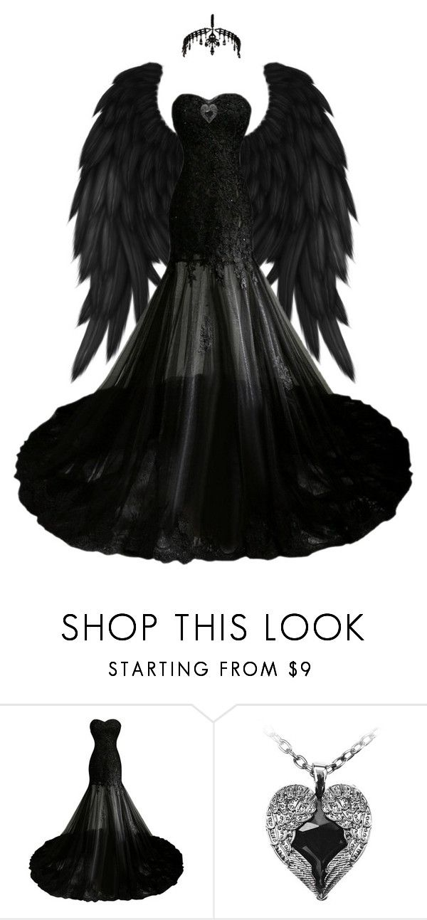 """""""Raven Goddess"""" by kaitlynpope77 on Polyvore featuring Poizen Industries and River Island"""