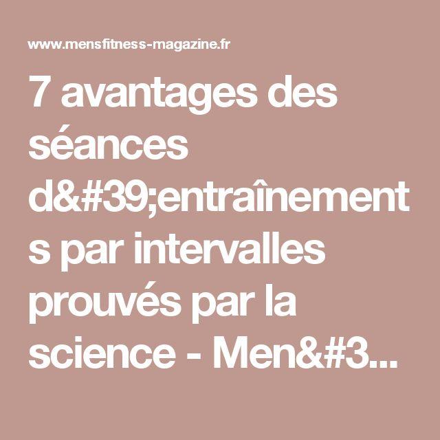 7 avantages des séances d'entraînements par intervalles prouvés par la science - Men's Fitness Magazine
