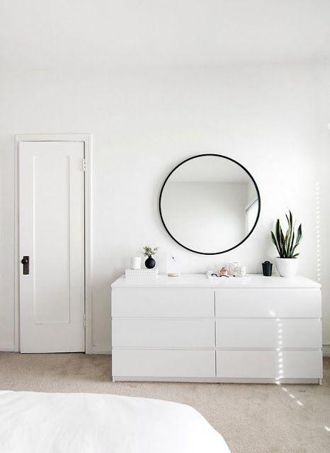 SCANDIMAGDECO Le Blog: Idée déco : le miroir rond