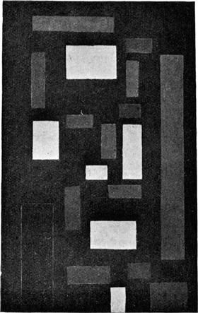 Composition VI (on black fond) - Theo van Doesburg