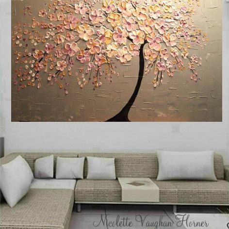 CUSTOM ORDER XLarge gallery wrap canvas Original Contemporary oil/acrylic…