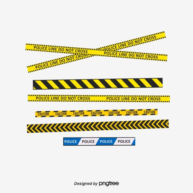 Vector Yellow Police Tape Yellow Cordon Writing Png And Vector With Transparent Background For Free Download Police Tape Police Tape