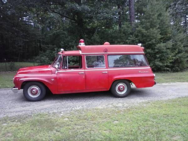 1964 International Ambulance on Craigslist for $7000 54K ...