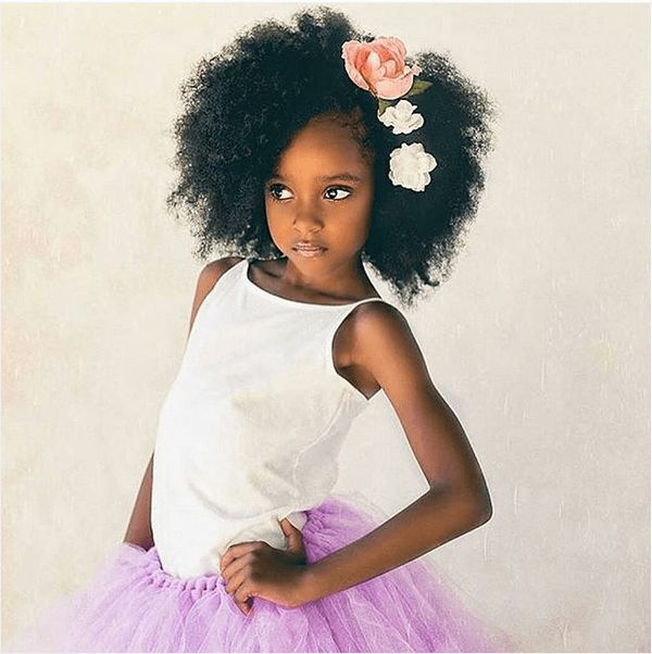 Chic Natural Hairstyles for Weddings & More shows various natural styles for women and girls for this very special occasion