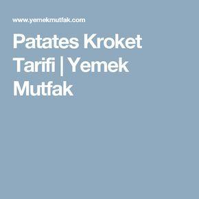 Patates Kroket Tarifi | Yemek Mutfak