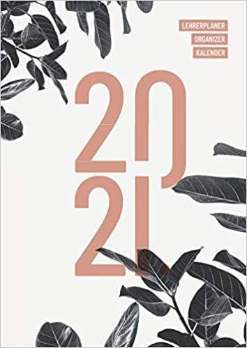 Lehrerplaner 2020/2021 Organizer Kalender: Umfangreicher ...