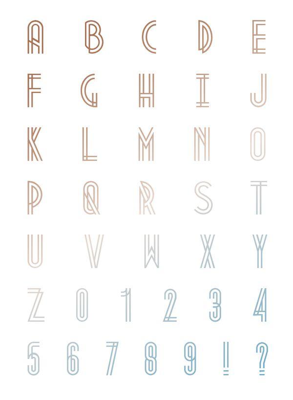 Metropolis 1920 est une typographie qui vient du mouvement industriel des années 1920 là où les grattes-ciel sont nés.