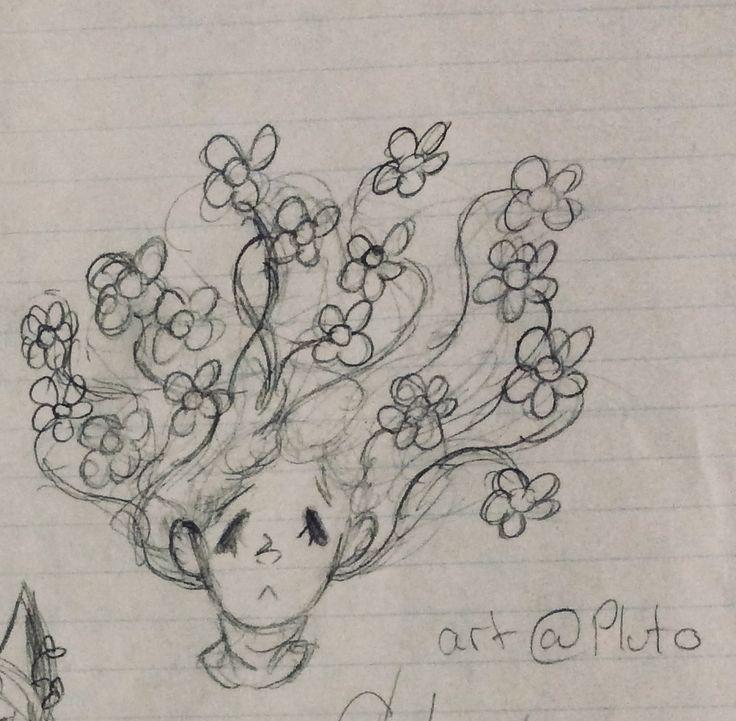 Doodle during math class