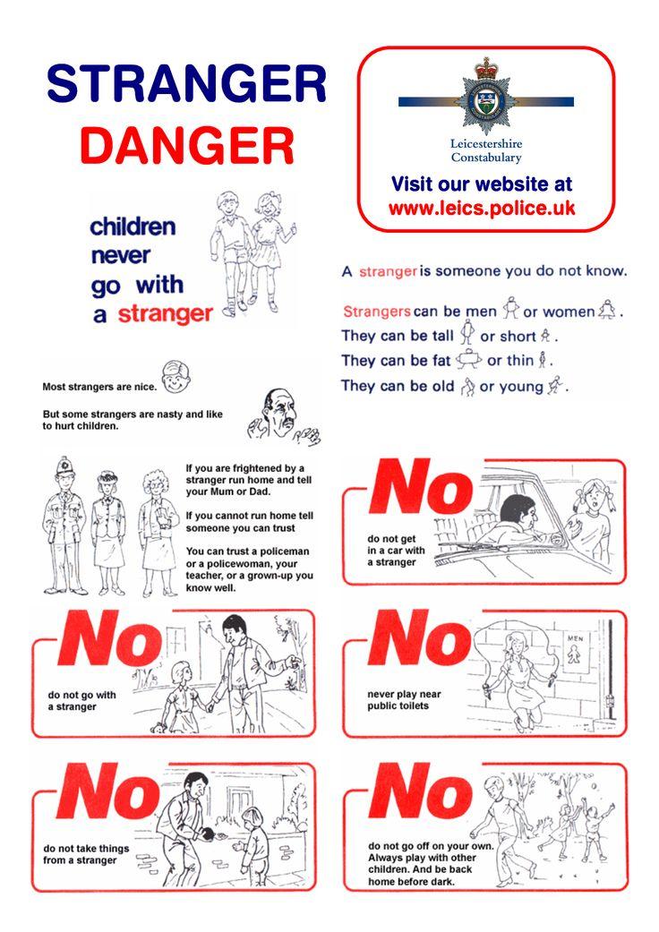 28+ [ Stranger Danger Worksheets ]   25 best ideas about ...