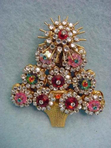 Stanley Hagler New York City Christmas Tree Pin