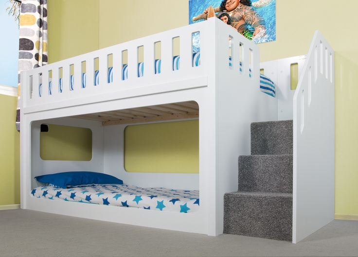 Deluxe Funtime Bunk Bed Shorty - Bunk Beds - Kids Beds - Kids Funtime Beds