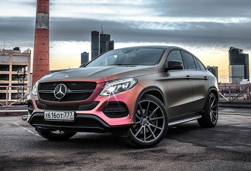 Mercedes GLE coupe sơn màu cá tính bậc nhất
