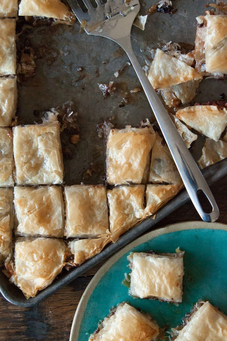 Coconut Chocolate Baklava - What's Gaby Cooking