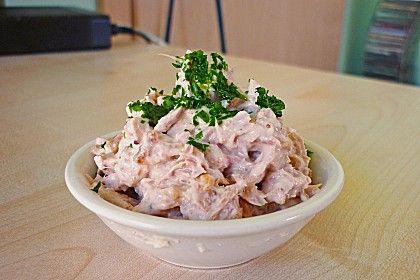 Thunfisch-Dip mit Röstzwiebeln (Rezept mit Bild) | Chefkoch.de