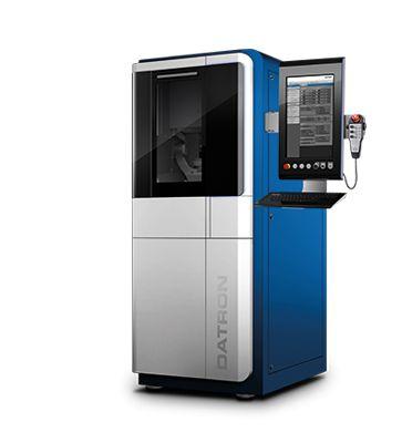 Datron C5 CNC Machine | High Speed Milling of Aluminum, Titanium and Steel