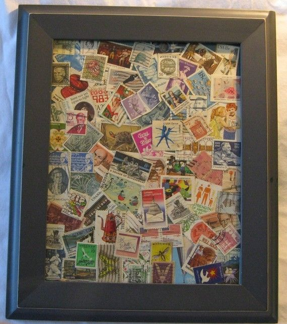 Great idea for a travel souvenir!  These are stamps.  My idea? Tickets of trains and entrance tickets of sights.