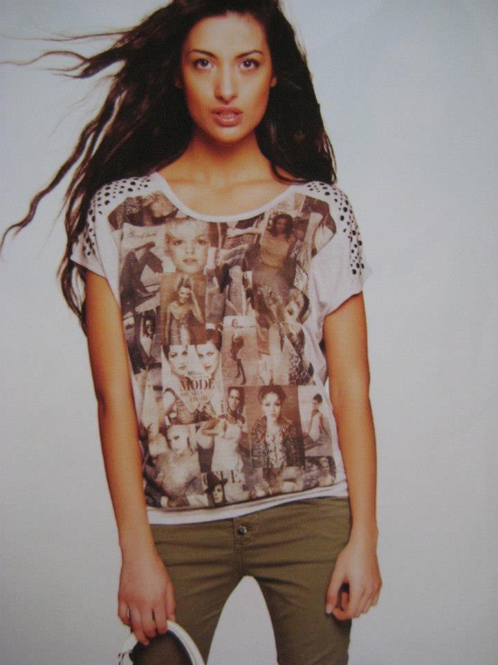Leuk shirt met fotoprint, in grijs en wit. Nu verkrijgbaar bij Seasons Nijmegen
