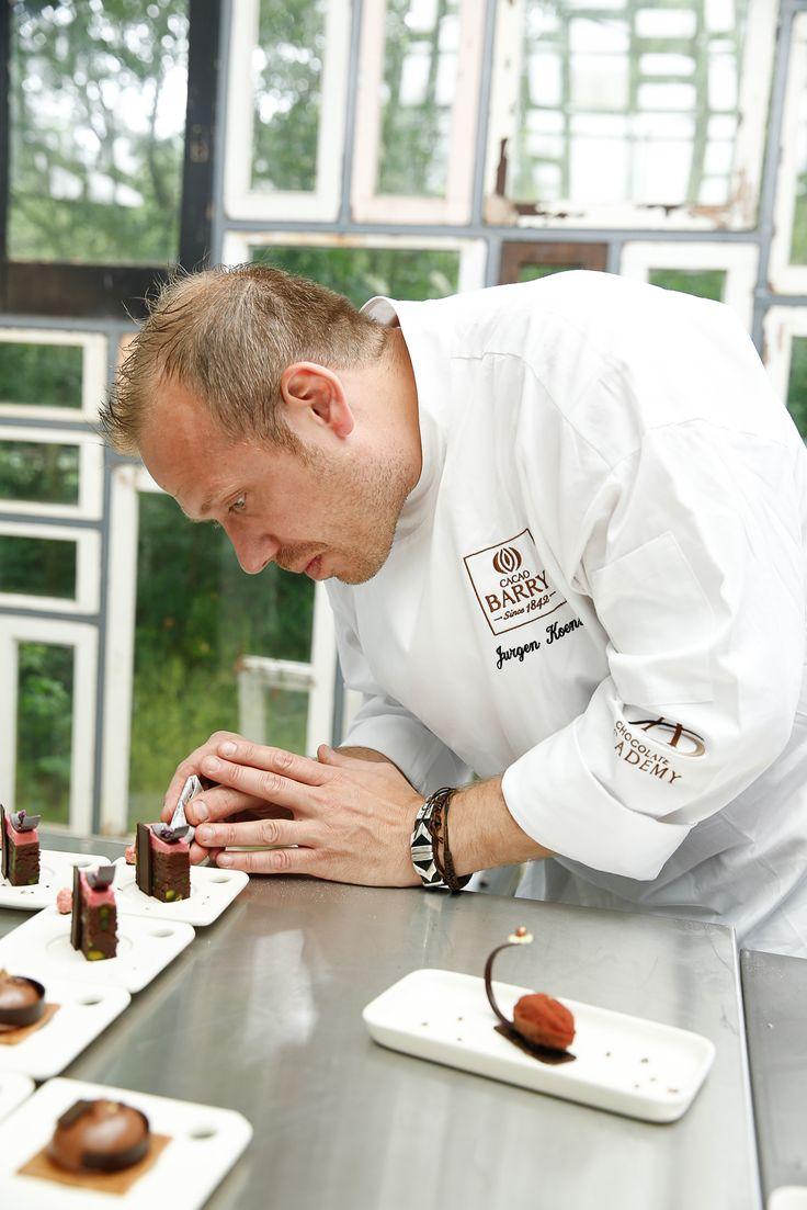 Behind the scene @Jurgenkoens #CacaoBarry #Creativeday #Purityfromnature #chocolate