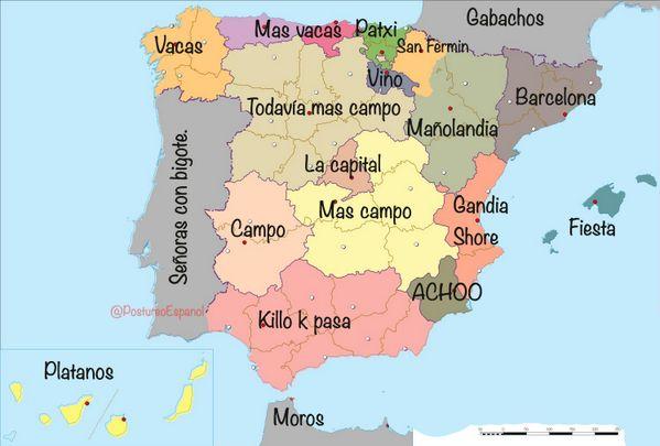 CARTOGRAFÍA ESPAÑOLA. | Postureo Español