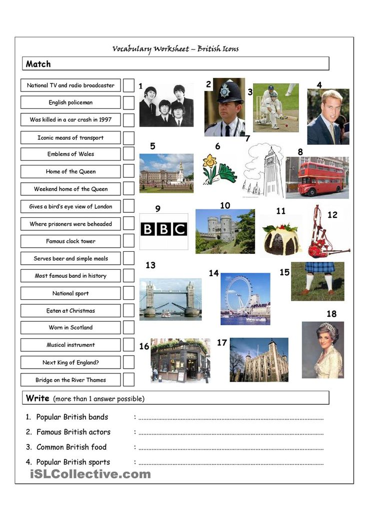 vocabulary matching worksheet quiz british icons landmarks worksheets activities. Black Bedroom Furniture Sets. Home Design Ideas