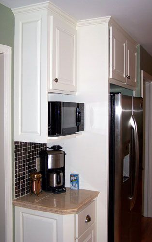 Refrigerator cabinet; we wouldn't need mirco