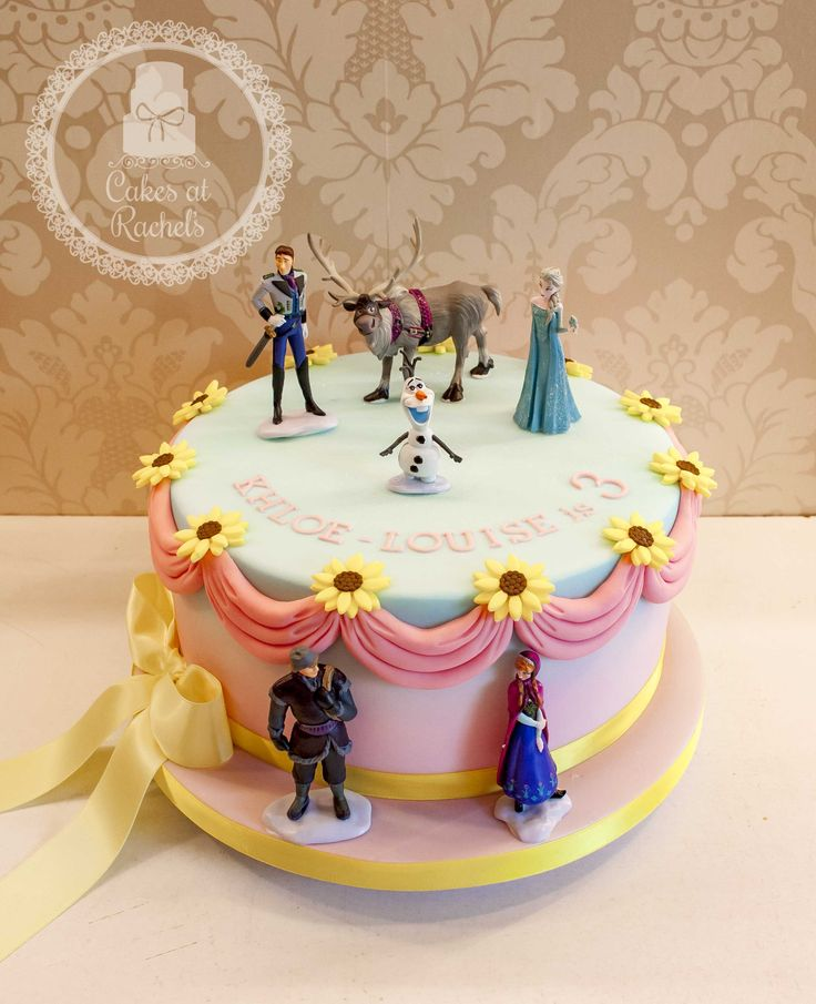 party themed cakes 3rd birthday frozen forward frozen themed cake ...