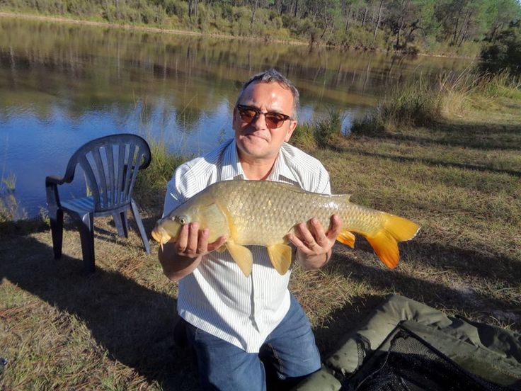 Exclusive fishing and holiday in private lake Dordogne France. Forest fishing holidays.