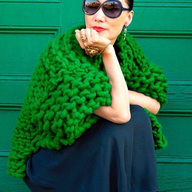 Giant Knitting (Крупная вязка) | Кому Идею?