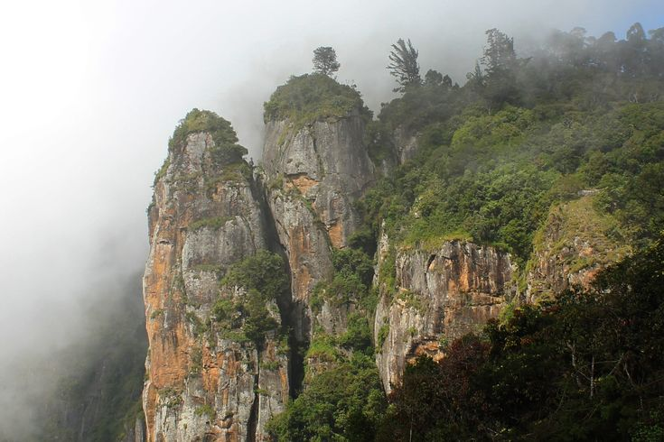 Pillar Rocks in Kodaikanal, Tamil Nadu, India