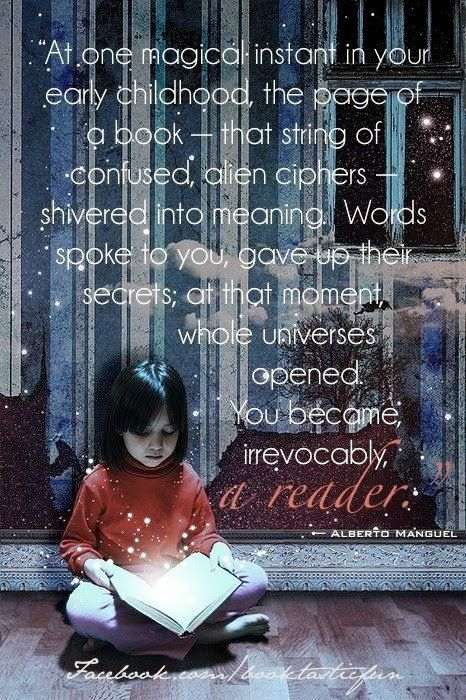 Do you remember when you became a reader?