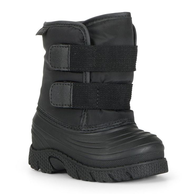 Lugz Flurry Toddlers' Winter Boots, Kids Unisex, Size: 10 T, Black
