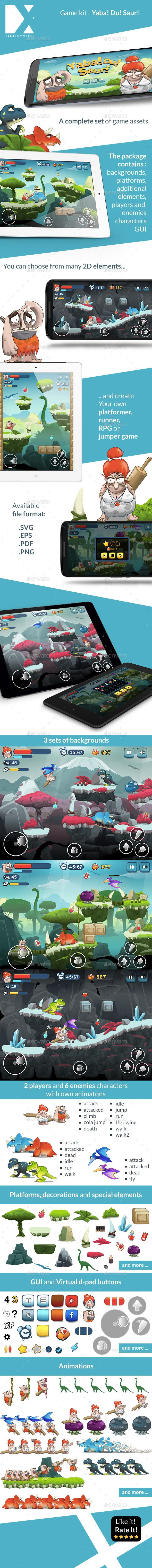 YabaDuSaur - Game Kit (Game Kits)