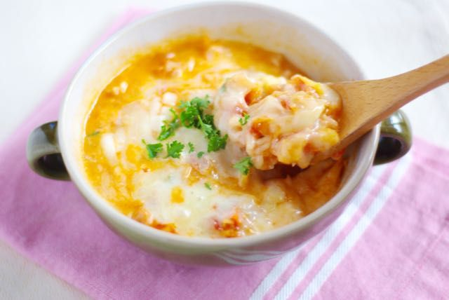おはようございます。 朝、陽が差し込んで明るくなるのが少し早くなった気がします^^とはいっても、まだまだ朝は寒いですね〜! 今週の「作り置きでパパッと朝ごはん」は、トマトスープの作り置き!これさえあれば、朝からチーズとろ …