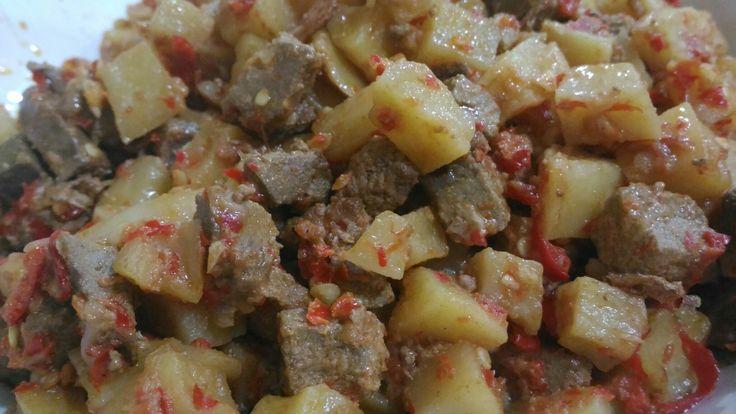Simply sambel goreng kentang ati