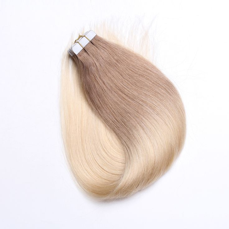 Skin Weft Tape In Human Hair Extension in Ombre Color 6/613