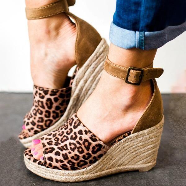Shoes - 2018 Summer Hot Sale Leopard