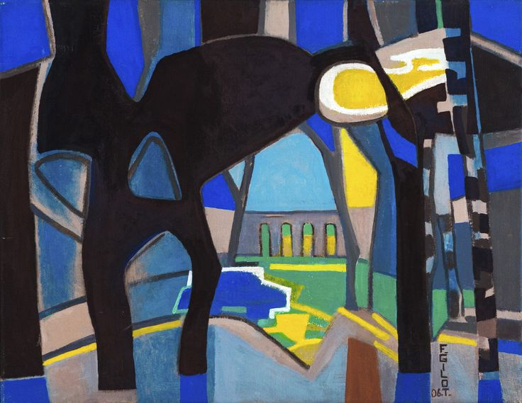 FRANÇOISE GILOT Lemenő nap fénye a nárciszokon | Daffodils in the Light of the Setting Sun 2006 – 35x45 cm olaj, vászon | oil on canvas Várfok Galéria, Budapest