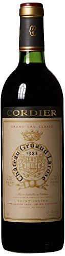 1983 Chateau Gruaud Larose Saint Julien Bordeaux 750 mL -- Check this awesome product by going to the link at the image.  This link participates in Amazon Service LLC Associates Program, a program designed to let participant earn advertising fees by advertising and linking to Amazon.com.