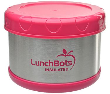 Lunchbots Thermal Pink