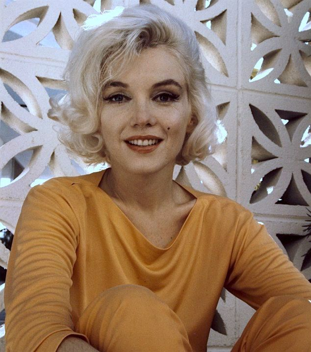 Marilyn Monroe's final photo shoot picture, just three weeks before her death in 1962.