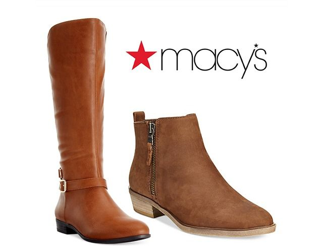 Under $100 Women's Boots Sale w/ Savings Up to 75% Off  Extra 15-25% Off Purchase & More $22.25 (macys.com)