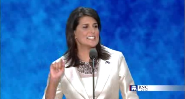 nikki haley women can do it New york ― un ambassador nikki haley spoke about her first two months on the job with msnbc's greta van susteren on wednesday night at the women in.