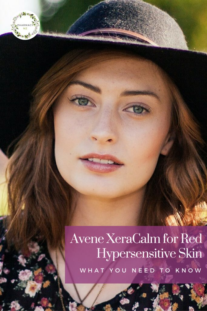 Do you find your skin easily turns red after using skin care products?  Is your skin often patchy or itchy? Let me share with you a secret: Avene XeraCalm.  Read more on our blog.  #AveneXeraCalm #avene #skinredness #hypersensitiveskin #pharmacynz #nz