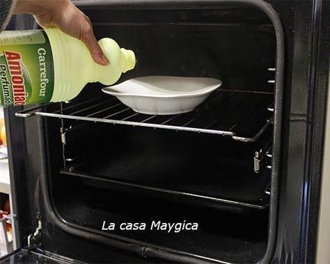 Limpiar el horno sin esfuerzo es posible. Método infalible y trabaja lo justo. No volverás a desesperar con su limpieza nunca mas