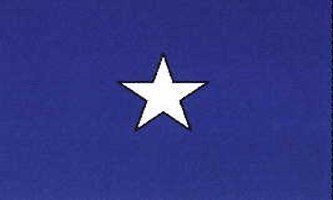 """New 3x5 US Civil War Confederate Bonnie Blue Flag by BlockBusterClearance. $4.99. Size: 3' x 5' (36"""" x 60""""). Includes 2 Brass grommets for hanging. Material: Polyester. New 3x5 US Civil War Confederate Bonnie Blue Flag Flags. The Bonnie Blue Flag (single white star on a blue field) was the flag of the short-lived Republic of West Florida. In September 1810, settlers in the Spanish territory of West Florida revolted against the Spanish government and proclaimed an in..."""