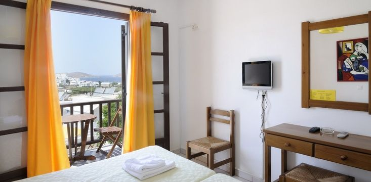 Only 300 metres from the centre of Naousa, #Sunrise Hotel, #Hotel #Paros #Greece